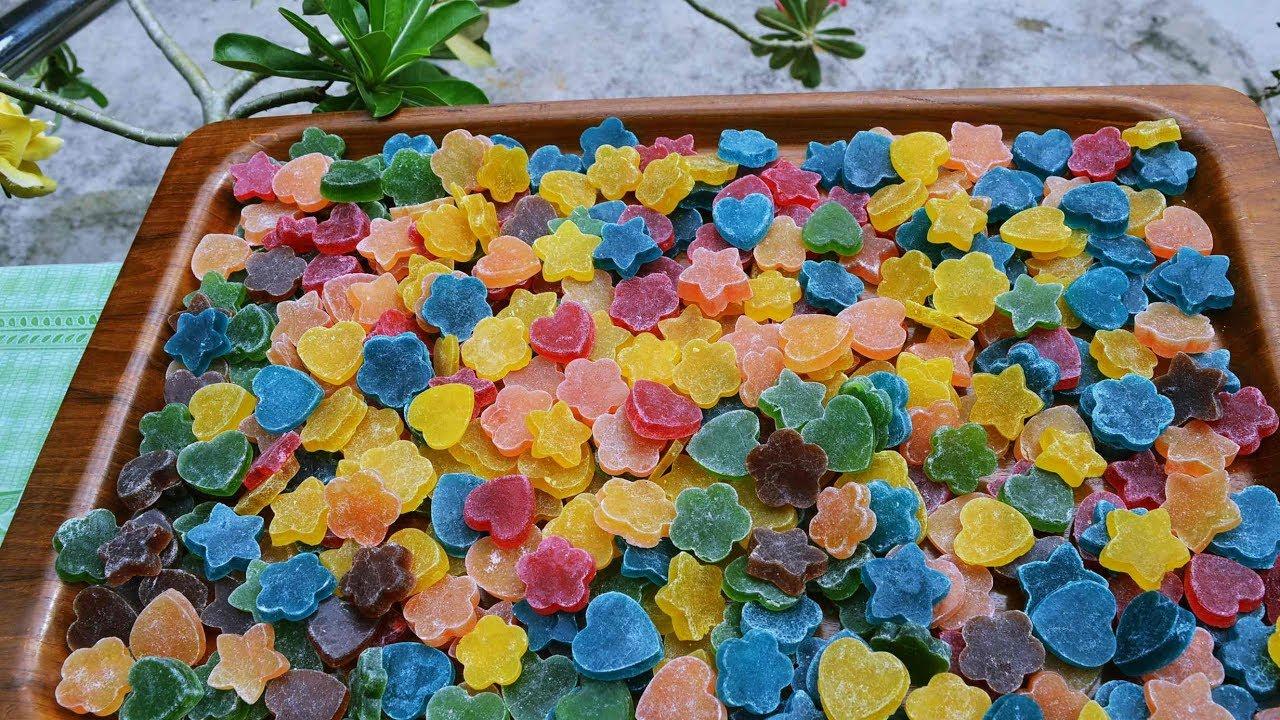 Cara membuat permen jelly