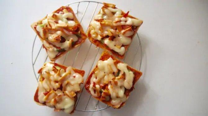 resep membuat roti pizza