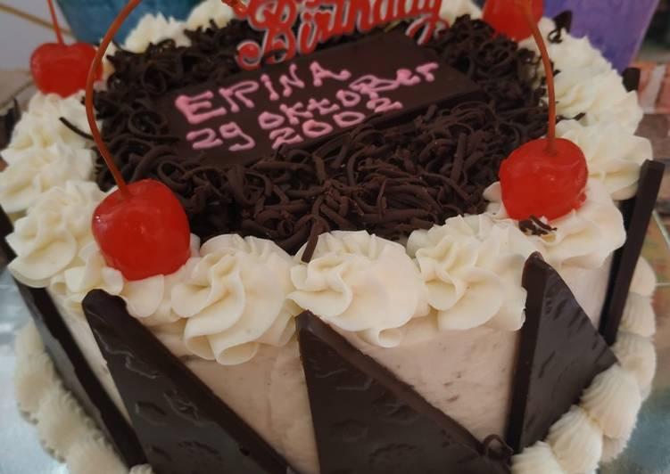 resep kue ulang tahun kukus