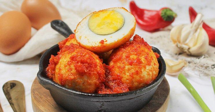 Cara Membuat Telur Balado Khas Minang Gak Pake Ribet